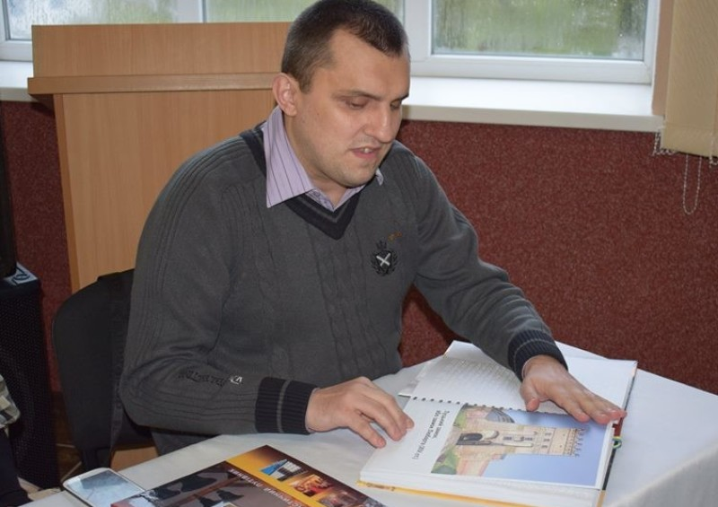 «Якщо не знаєш шрифту Брайля – то ти просто безграмотний», - Віталій Ткачук