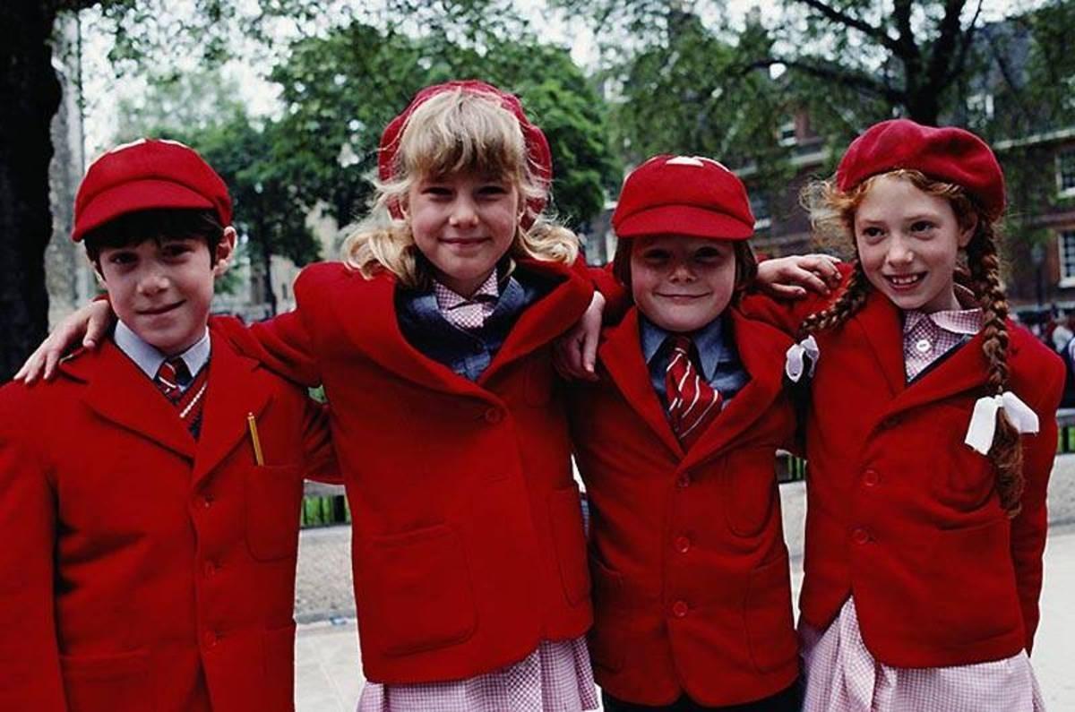 Фото английских детей в школе