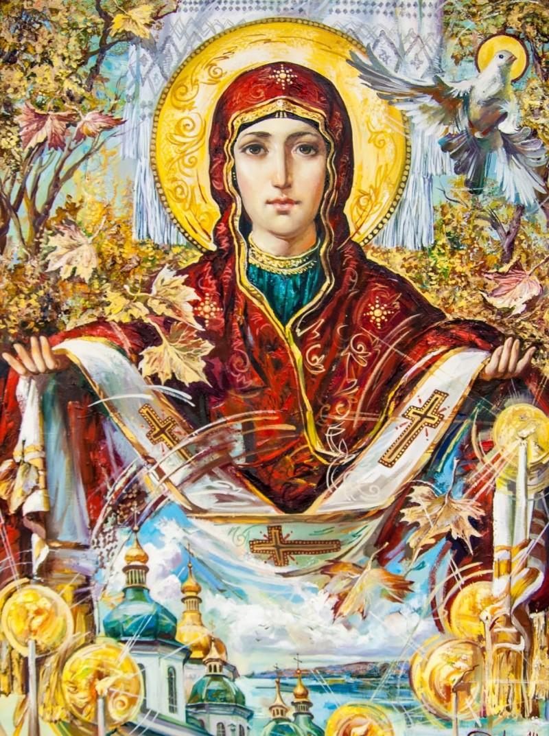 Сьогодні українці відзначають День захисника України і свято Покрови Пресвятої Богородиці - Цензор.НЕТ 8234