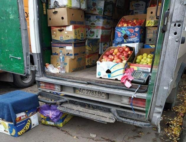 У Луцьку «кошмарили» продавців овочів і фруктів