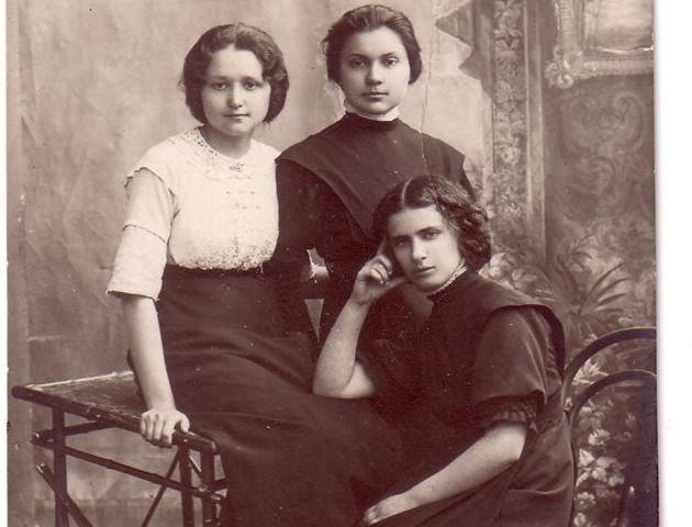 Волинські модниці початку ХХ століття. ФОТО
