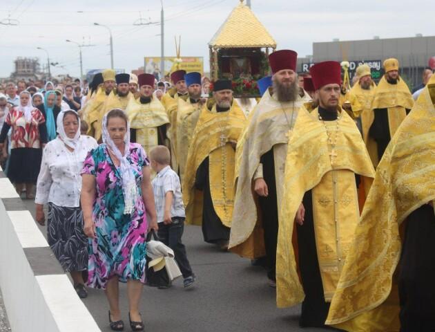 У Луцьку перекриють вулиці через хресний хід УПЦ МП