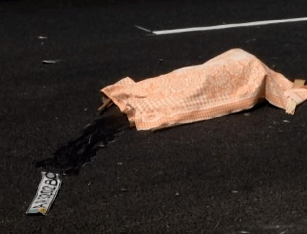 На Київщині легковик розчавив 5 людей. ВІДЕО 18+