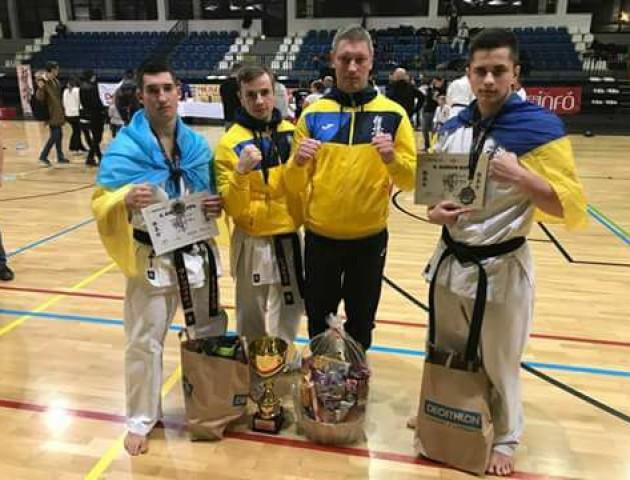 Лучанин зайняв перше місце з кіокушин карате на міжнародному турнірі