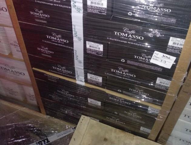 На «Ягодині» вилучили незадекларовану партію кави, вартістю 500 000 грн