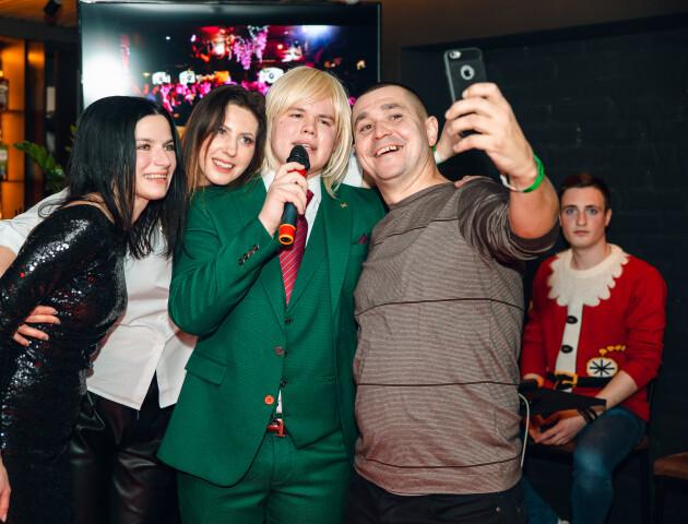 Як у Луцьку святкують новорічні корпоративи