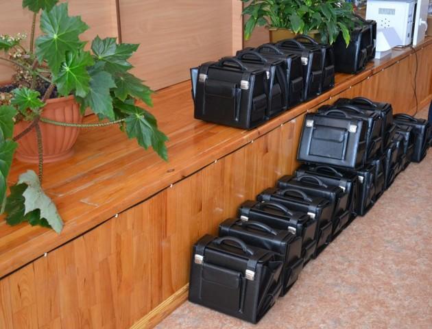 Любомльські ФАПи забезпечили медичними сумками