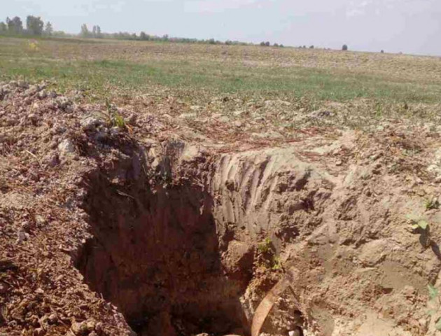 На Волині знайшли бомбу часів минулої війни. ФОТО