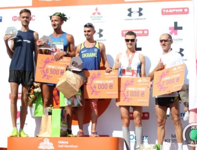 Волинянин здобув перемогу на Odesa Half Marathon 2018