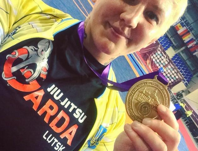 Лучанка тріумфувала на Чемпіонаті Європи, перемігши італійку. ФОТО