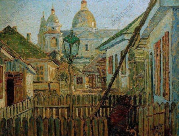 Волинське містечко 100 років тому - на полотнах німецького художника