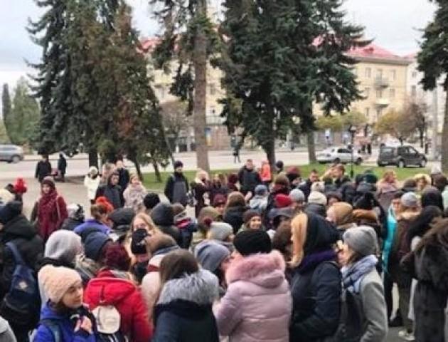 У Луцьку студенти організовують акцію протесту. ВІДЕО
