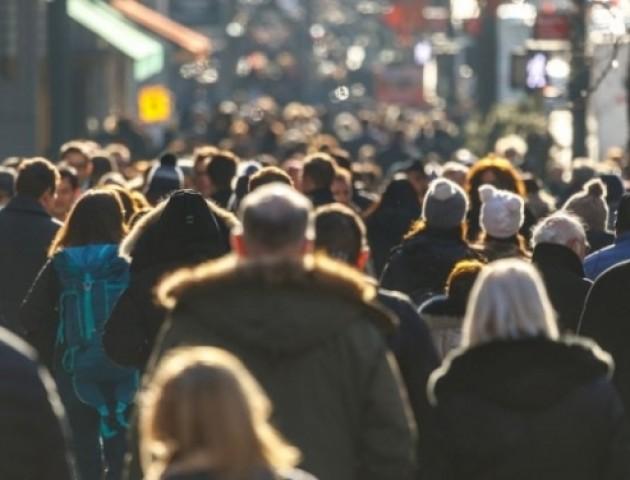 Населення на Волині продовжує скорочуватися