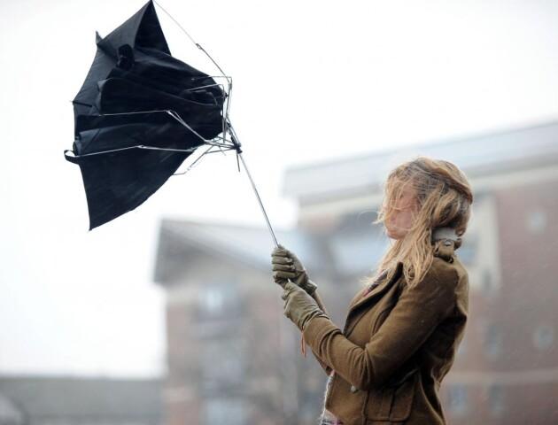 Штормове попередження. На Заході Україні прогнозують сильний вітер