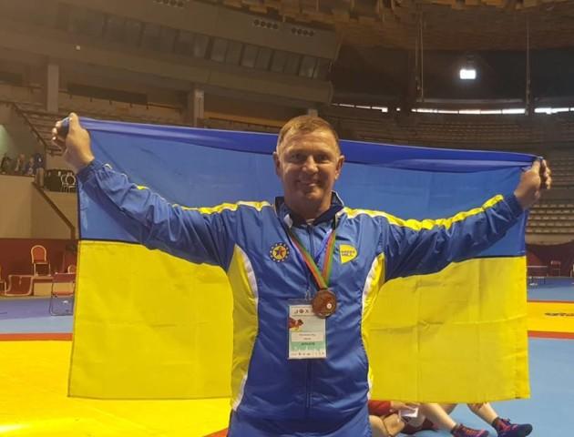 Депутат з Луцька взяв «бронзу» на Чемпіонаті світу із самбо. ФОТО