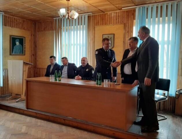 У районі на Волині представили нового керівника поліції