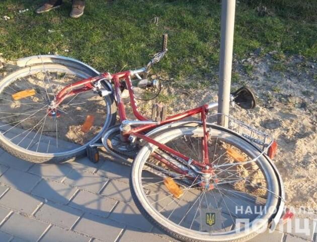 «Стан стабільний». 11-річну велосипедистку, яку збили напередодні, перевели в обласну лікарню