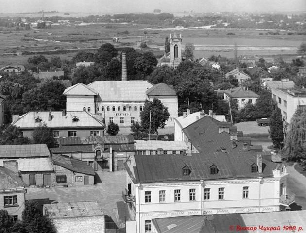 Панорама Старого Луцька 30 років тому. ФОТО