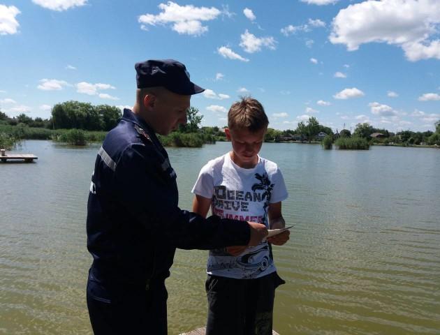 Волинські рятувальники нагадали правила безпечного відпочинку на воді