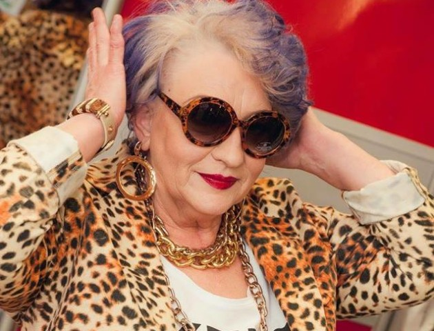 Наймодніша бабуся Луцька святкує день народження. ФОТО