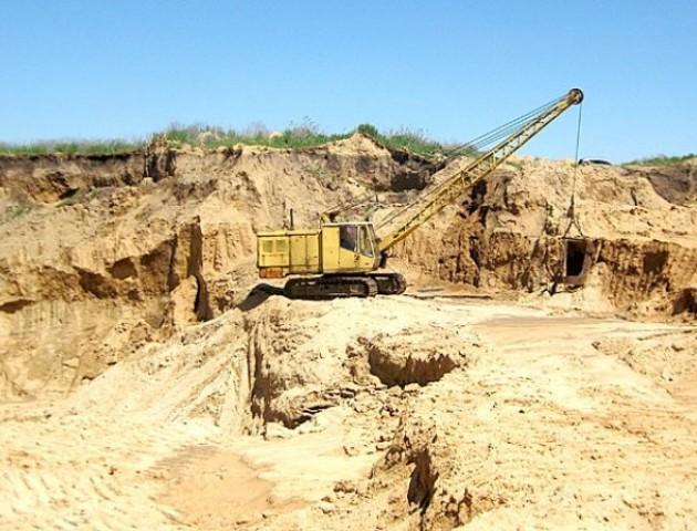 На Волині відкрили родовище піску