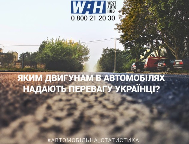Яким двигунам в автомобілях надають перевагу українці. СТАТИСТИКА