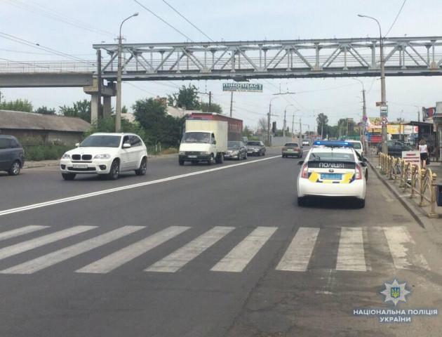 За фактом наїзду на дитину в Луцьку поліція завела «кримінал». ФОТО
