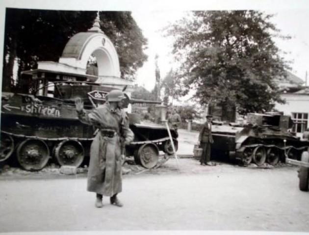 Центр Луцька окупований німцями: показали вражаючі ретрофото. ФОТО