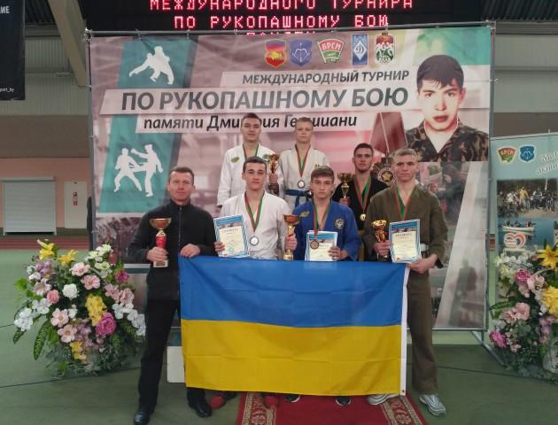 Волиняни – переможці міжнародного турніру з рукопашного бою.  ФОТО