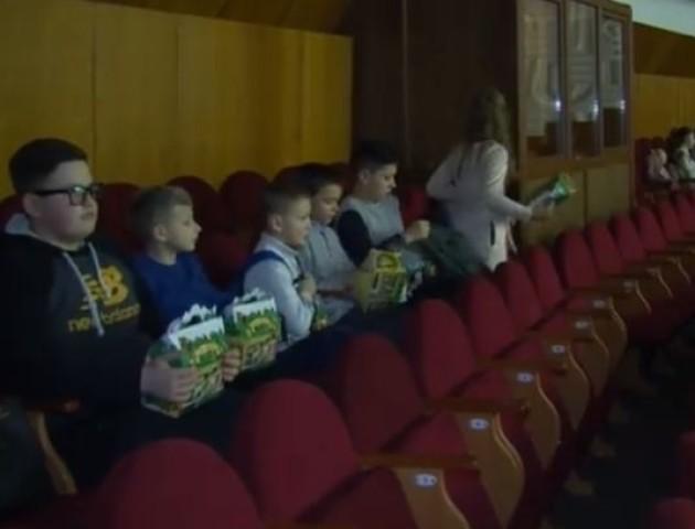 У Луцьку для дітей учасників бойових дій влаштували свято. ВІДЕО
