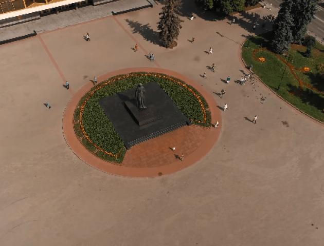 Казковий Луцьк: відео з висоти пташиного польоту. ВІДЕО