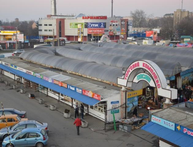 У Луцькраді хочуть забрати в облспоживспілки ринок «Завокзальний»