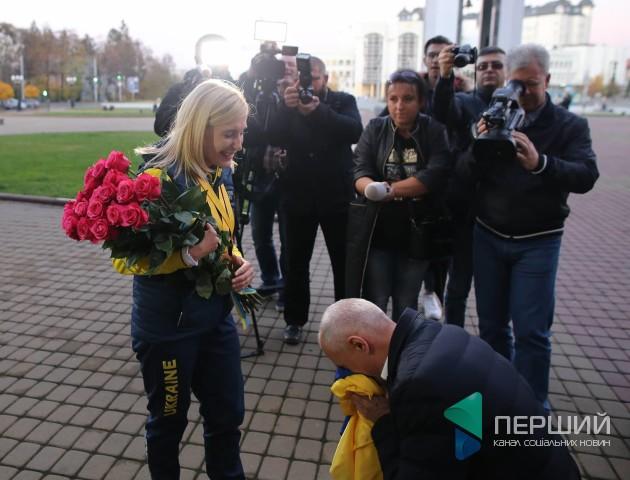 У Луцьк приїхала учасниця «Ігор нескорених» Майя Москвич. ФОТО