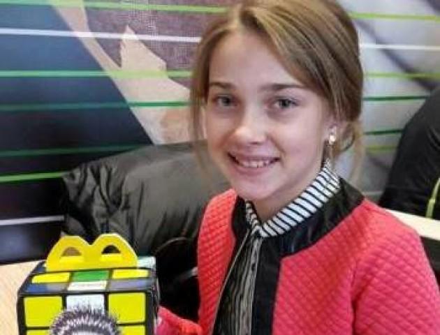 Юна співачка з Волині стала лауреатом міжнародного конкурсу. ФОТО