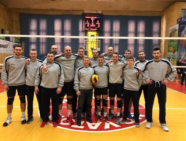 Луцька волейбольна команда лідирує у чемпіонаті України