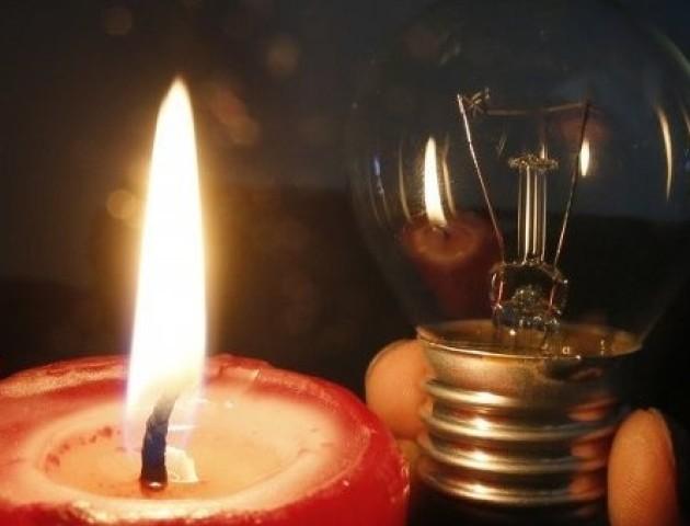 Графік відключення світла у Луцьку 7 листопада