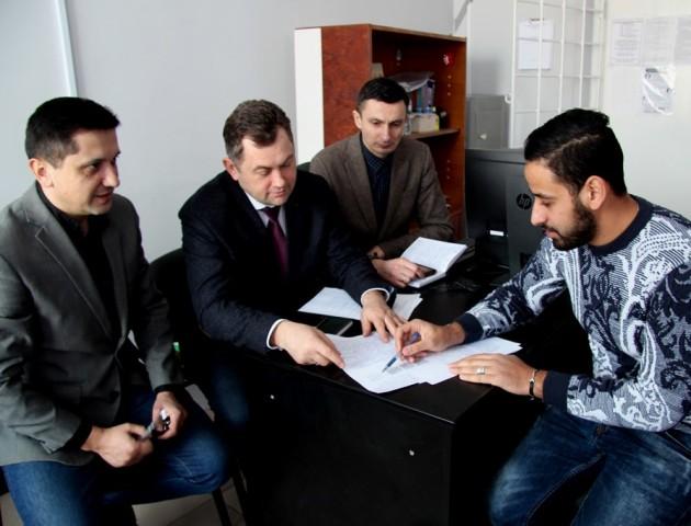 Вперше в історії Луцького НТУ: іноземець склав вступний іспит до аспірантури за техспеціальністю