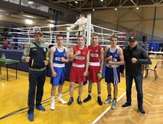 Волинські боксери вибороли низку перемог на міжнародному турнірі