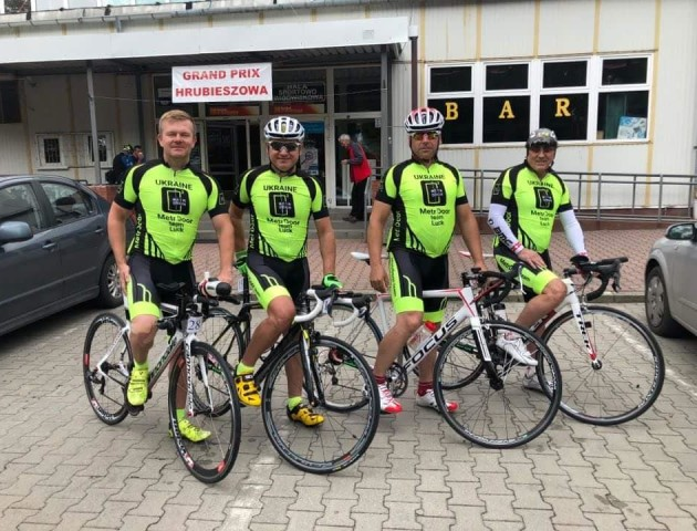 Луцькі велосипедисти з команди MetrDoor вибороли у Польщі призові місця