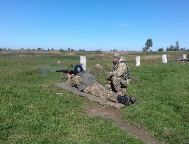 Козацька воля: на Волині тривають військові навчання. ФОТО