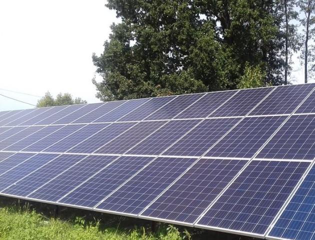 Волинянин звів на городі сонячну електростанцію. ФОТО. ВІДЕО