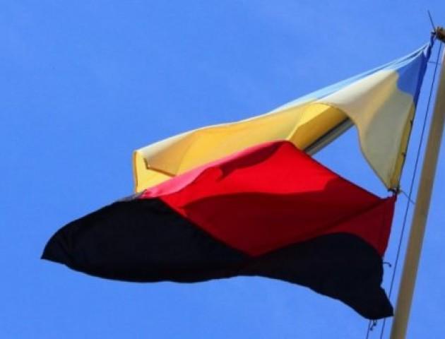 Міськрада Ковеля буде вивішувати червоно-чорний прапор