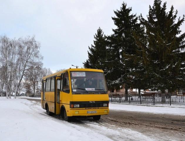 Приміській маршрутці хочуть заборонити їздити через центр Луцька