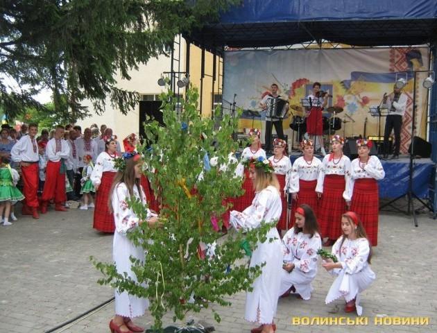 У селі під Луцьком на Івана Купала відгуляли День села
