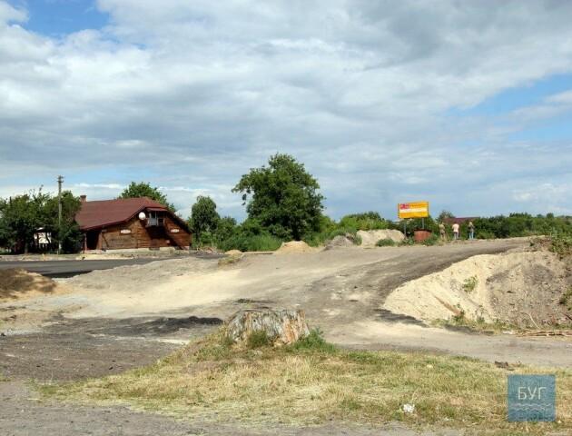 В Устилузі будують об'їзну дорогу до кордону
