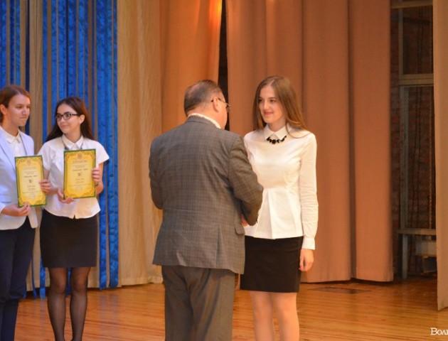 У Луцьку нагородили кращих учнів та учителів. ФОТО