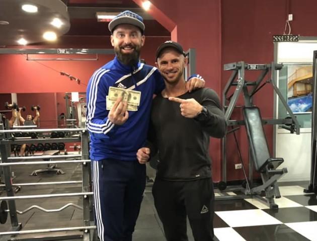 Поспорив з тренером на 200 доларів: волинянин за місяць «скинув» 10 кілограмів