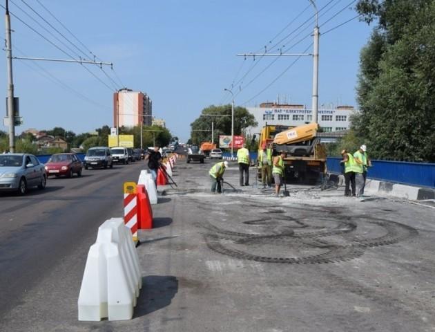 Коли завершать ремонт мосту на Ковельській у Луцьку
