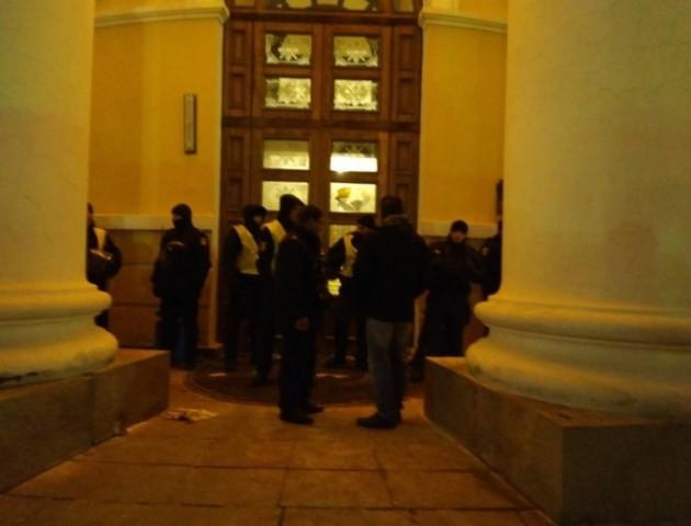 Учасники «Маршу за імпічмент» пішли з-під Жовтневого палацу