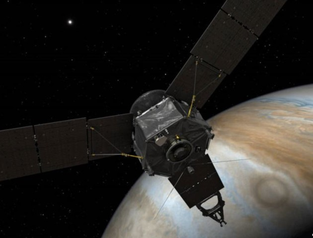 Зонд «Юнона» сфотографував південний полюс Юпітера. ФОТО